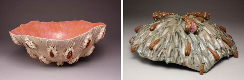 Mandy Stapleford, seed bowls, ceramic