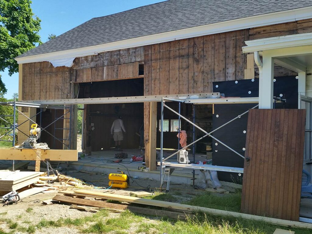 Preserving the SEED Barn while redesigning the structure to invite the view inside.